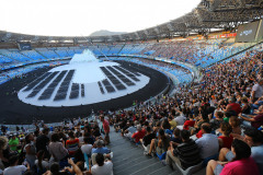 Cerimonia di apertura Universiadi 2019ph Pool Fotografi Universiade