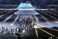 Cerimonia di apertura Universiade 2019