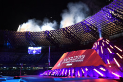 Cerimonia di apertura Universiade 2019  photo Pool fotografi Universiade